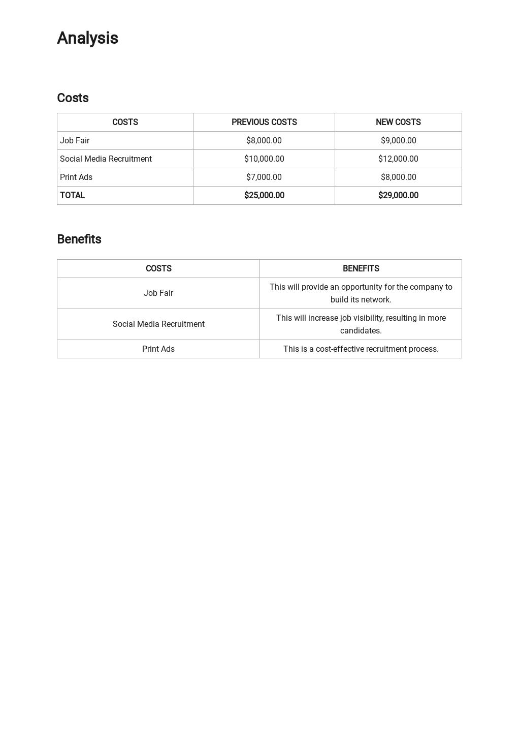 Free HR Analysis Report Template 2.jpe