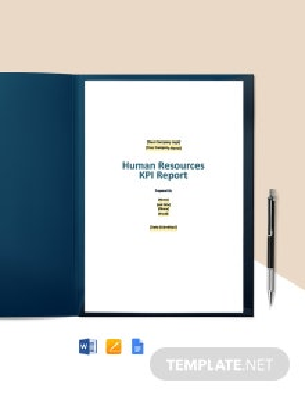 KPI Report Template
