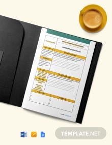 Free Sample Construction Statement of Work Template