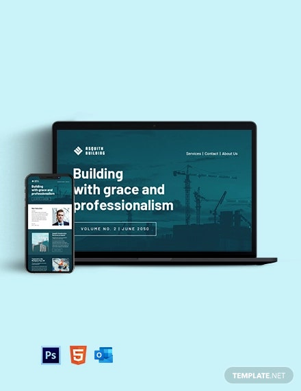 Sample Contractor Newsletter Template