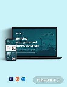 Free Sample Contractor Newsletter Template