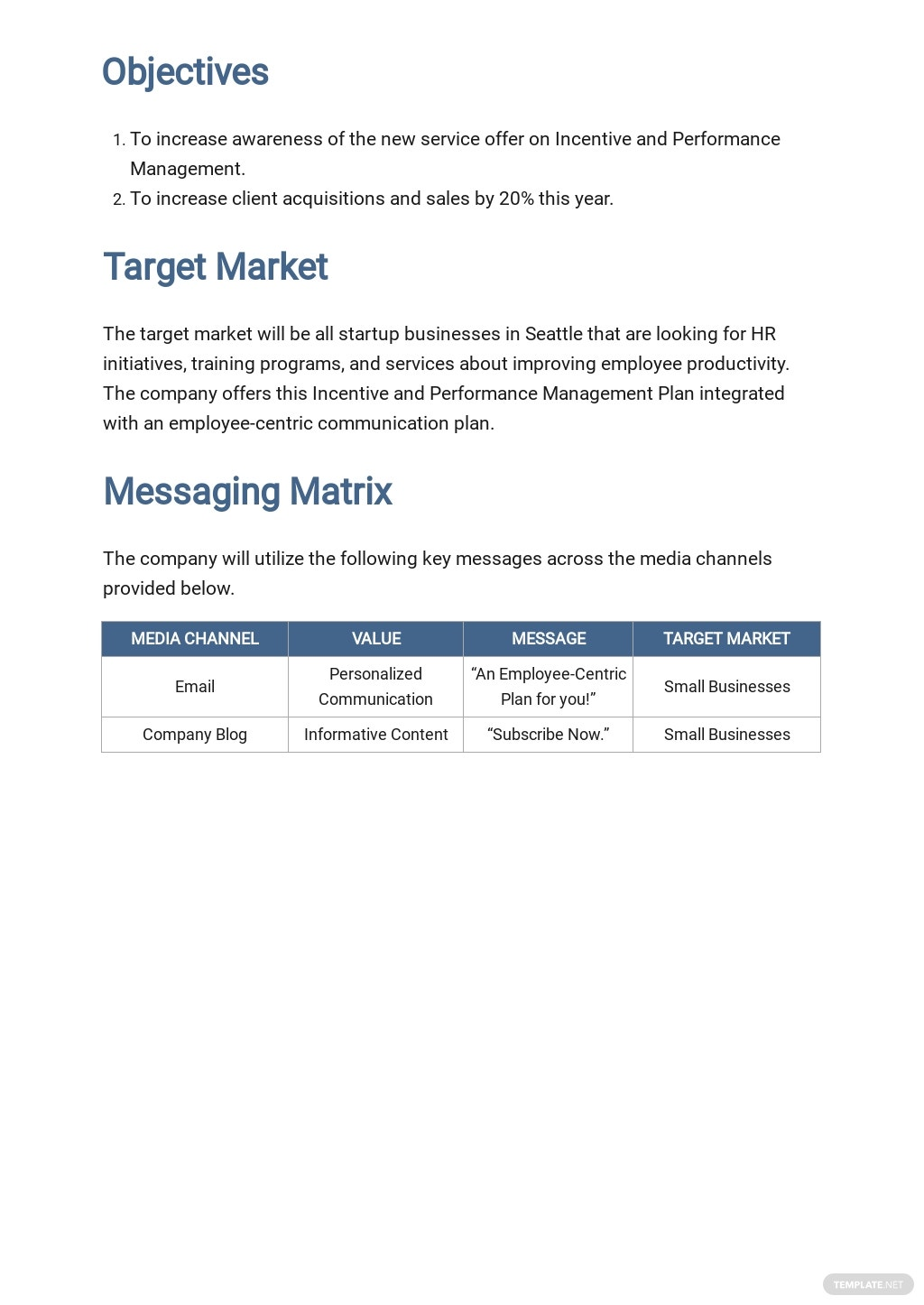 Free HR Communication Plan Template 1.jpe