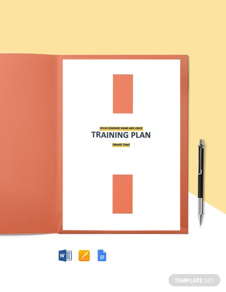 Training and Development Plan Template