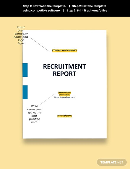 HR Recruitment Report Download