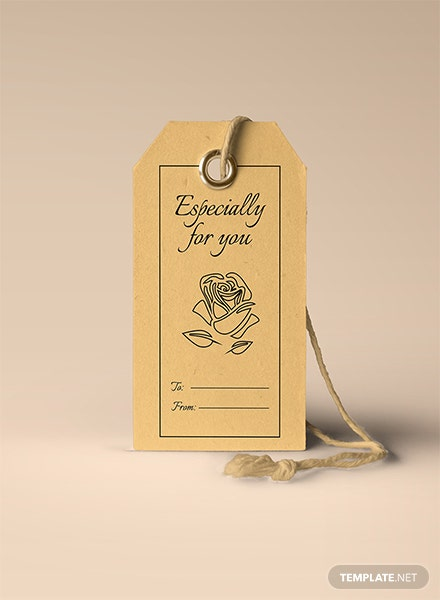 Free Gift Tag Template