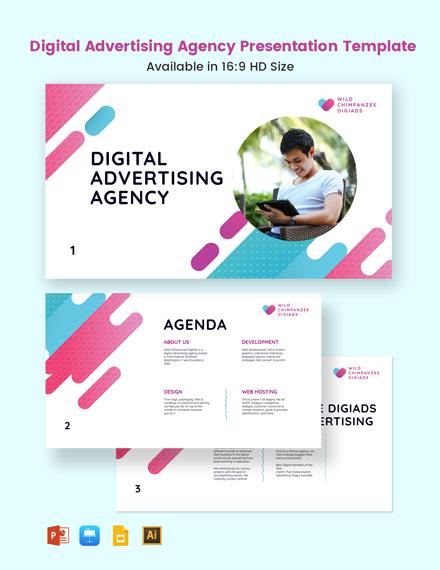 Digital Advertising Agency Presentation Template