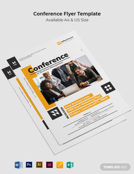 Sample Conference Flyer Template