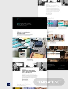 Free Design Studio Website Template