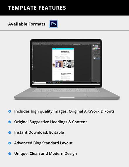 Editable Web Design Agency Website