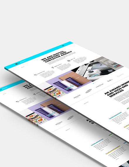 Web Design Agency Website Template