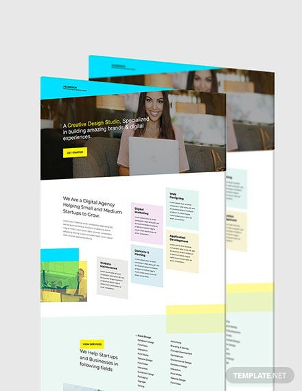 Creative Design Website Format