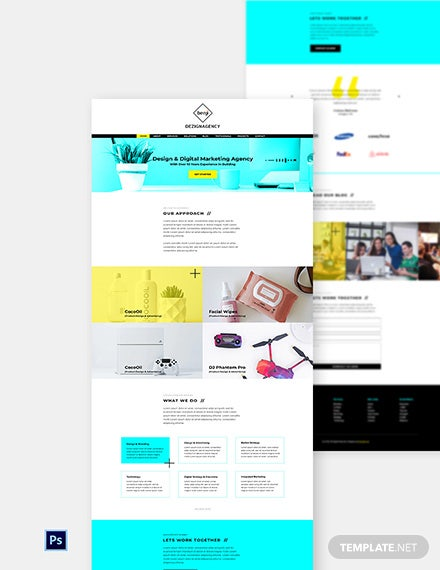 Creative Studio Website Template