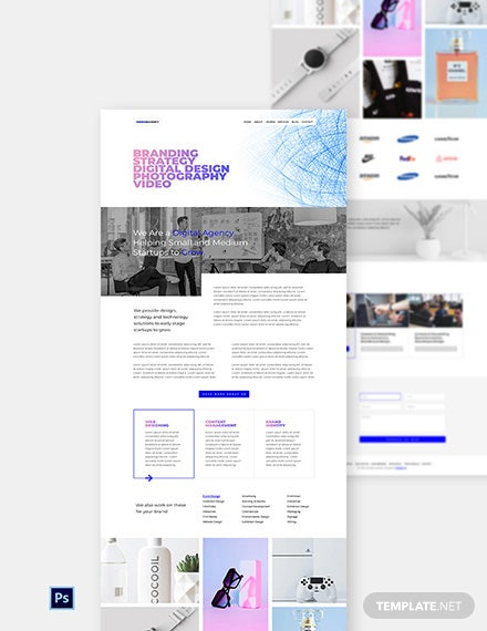 Design Company Website Template