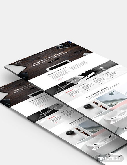 Graphic Design Agency Website Template