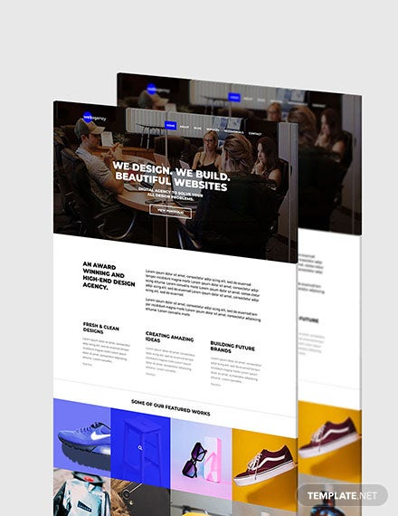 Graphic Design Website Format