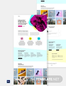 Interactive Design Website Template
