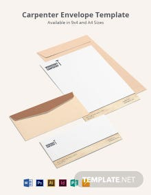 Carpenter Envelope Template
