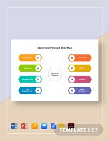 Statement Personal Mind Map Template