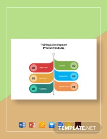 Training & Development Program Mind Map Template