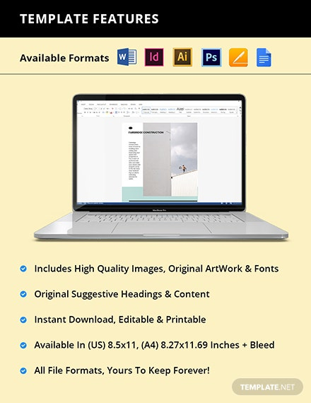 Free Minimalist Marketing Flyer Template Sample