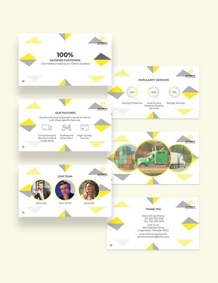 Moving Company Presentation Download