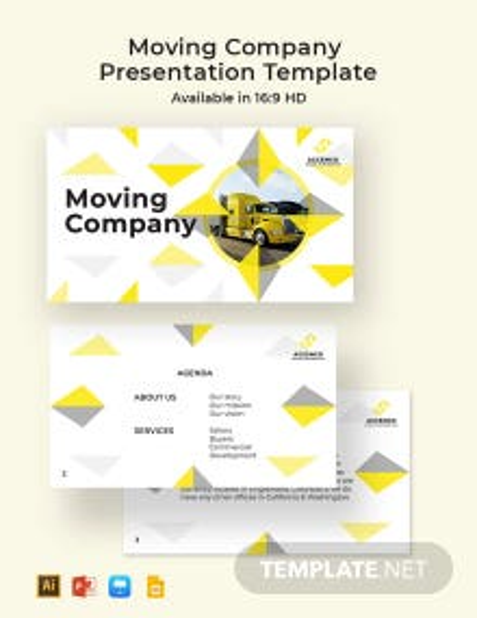Moving Company Presentation Template