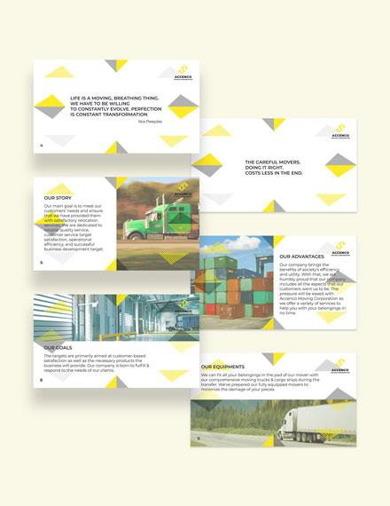 Sample Moving Company Presentation