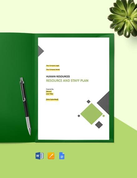 Employee Retention Plan Template