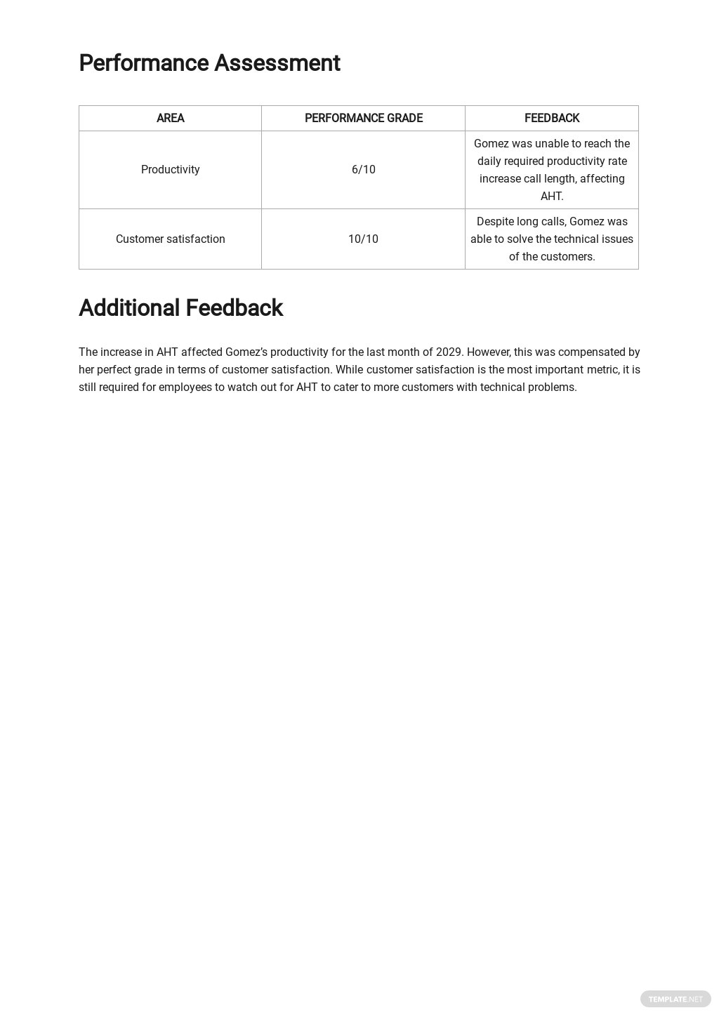 Employee Performance Report Template 2.jpe