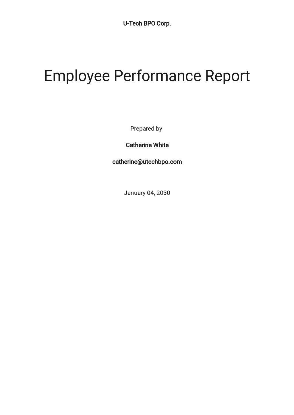 Employee Performance Report Template.jpe