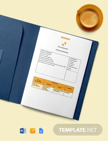 Employee Performance Report Template
