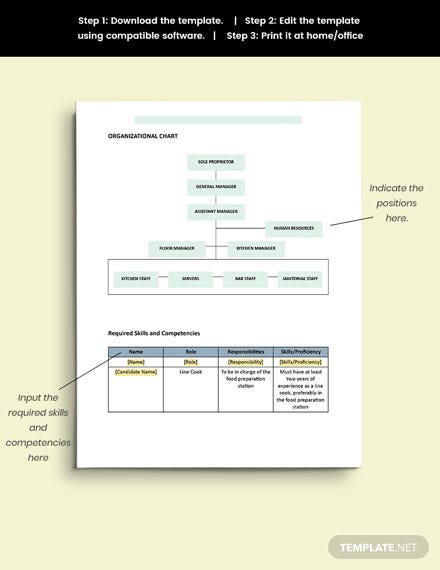 sample Human Resource Planning
