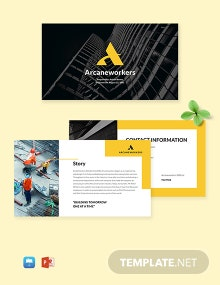 Construction & Building Company Template