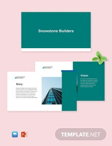 Free Sample Construction Company Profile Template
