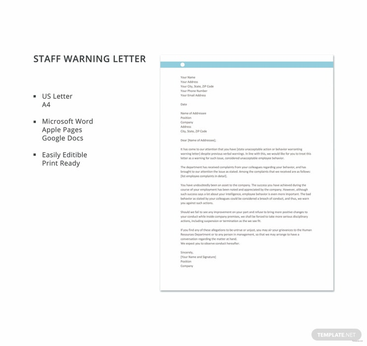 staff warning letter 740x698