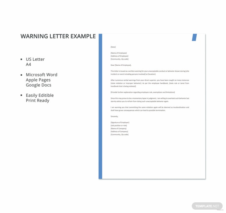 warning letter example 740x698