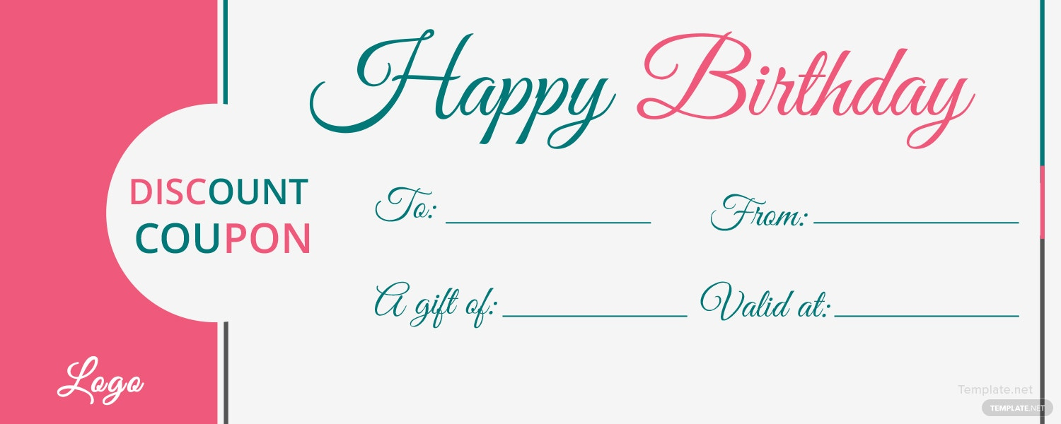 microsoft word birthday coupon template