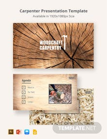 Carpenter Presentation Template