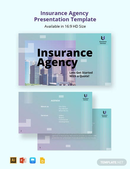 Insurance Agency Presentation Template
