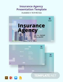 Insurance Agency Presentation Template