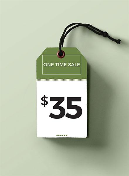 Free Price Tag Template