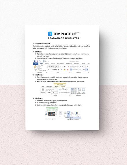 Sample IT Market Planning Checklist