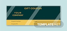 Vintage Coupon Template