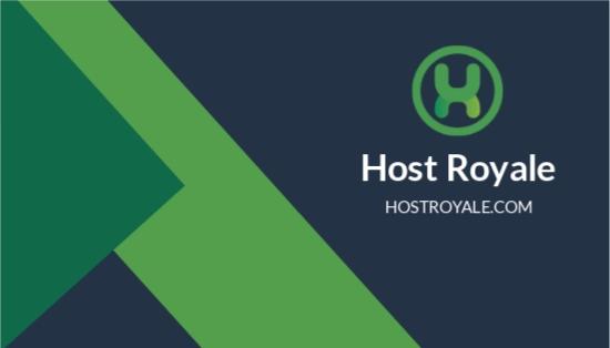 Web Hosting Business Card Template.jpe