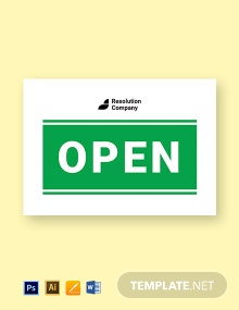 Interchangeable Office Sign Name Plates Template