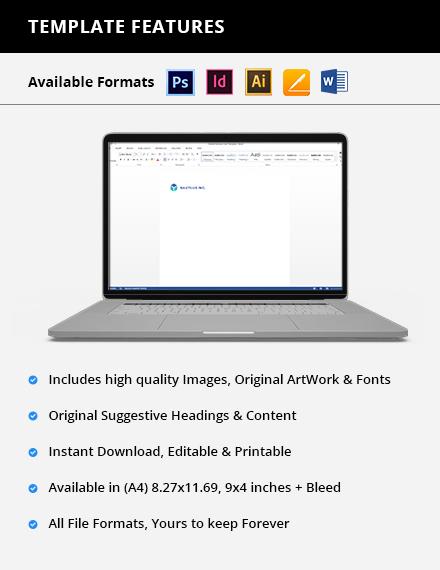 Free Modern IT  Software Envelop Template Format