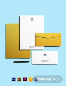 Software Company Envelope Template