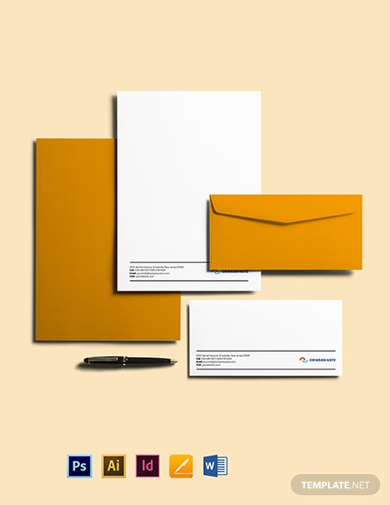 Tech Envelope Template