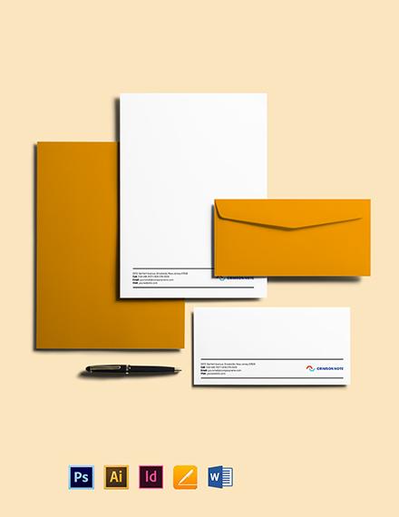 Tech Envelope Template