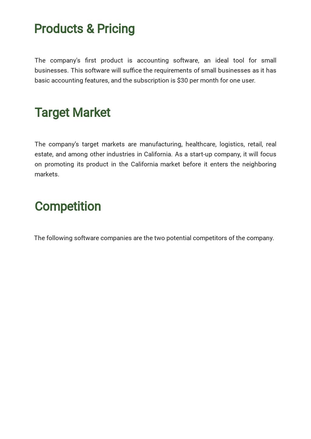 Free Sample Software Business Plan Template 2.jpe
